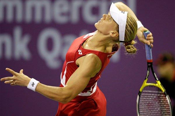 phoca thumb l a0af89eac4ff4d1572ecb5603b3 Елена Веснина вышла во второй круг турнира в Португалии