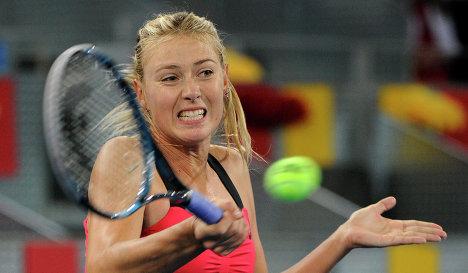 595962726 Мария Шарапова вышла в третий круг турнира в Мадриде