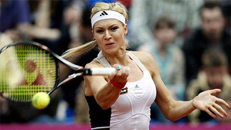 Mariia Kirilienko rieitiers11111 Мария Кириленко вышла в третий круг турнира в Риме