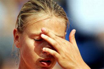 picture Мария Шарапова покинула турнир в Риме из за проблем со здоровьем