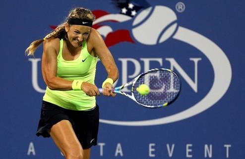 214573 Виктория Азаренко триумфально вышла во второй круг US Open
