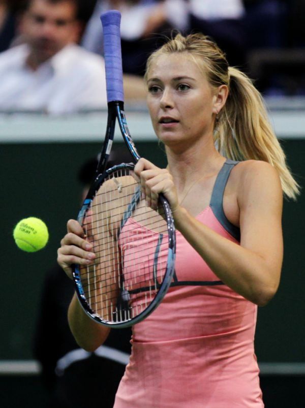 praga Sharapova 3 Мария Шарапова покажет класс на выставочных матчах