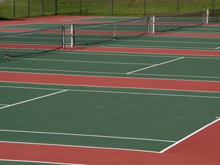 032 Необходимые размеры теннисного корта