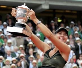Победа Марии Шараповой в полуфинале
