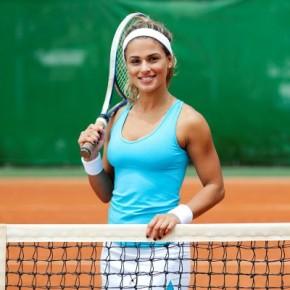 Теннис - интересная и увлекательная игра