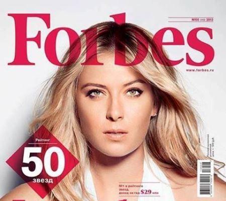2132421 Теннисистка Мария Шарапова в списке Forbes.