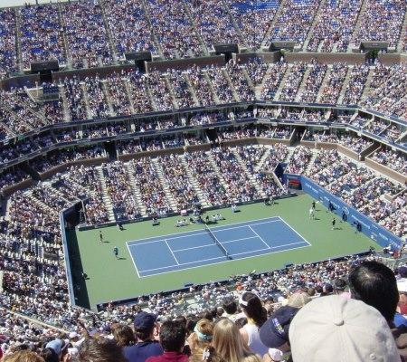 Arthur ashe stadium interior Американские теннисные серии: Connecticut Open