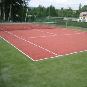 Строительство теннисный кортов