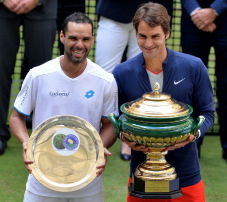 federer halle 2014 Новость о теннисе