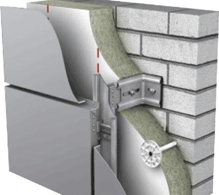 ventiliruemyie fasadyi Система вентилируемого фасада
